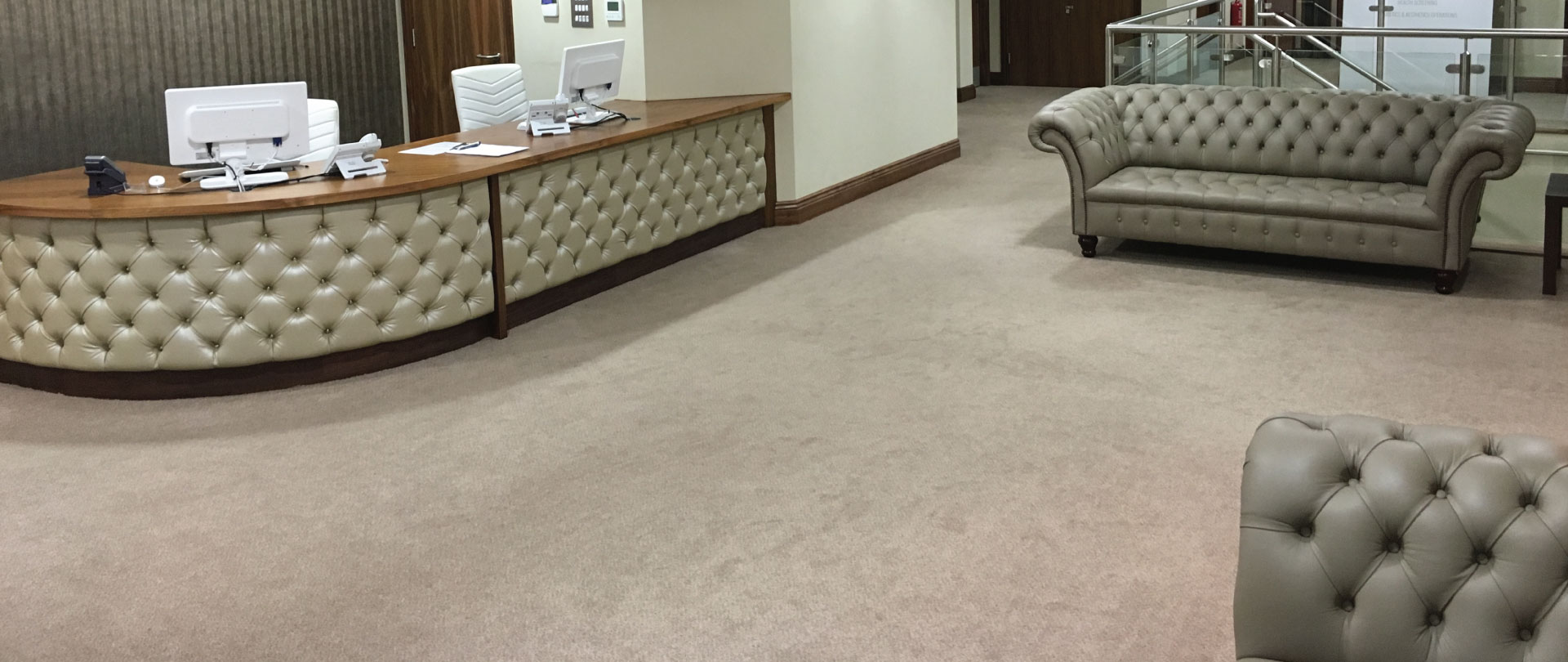 A professional flooring service that fits around your business needs